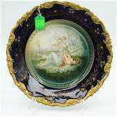 Porcelain Handpainted Cabinet Plate