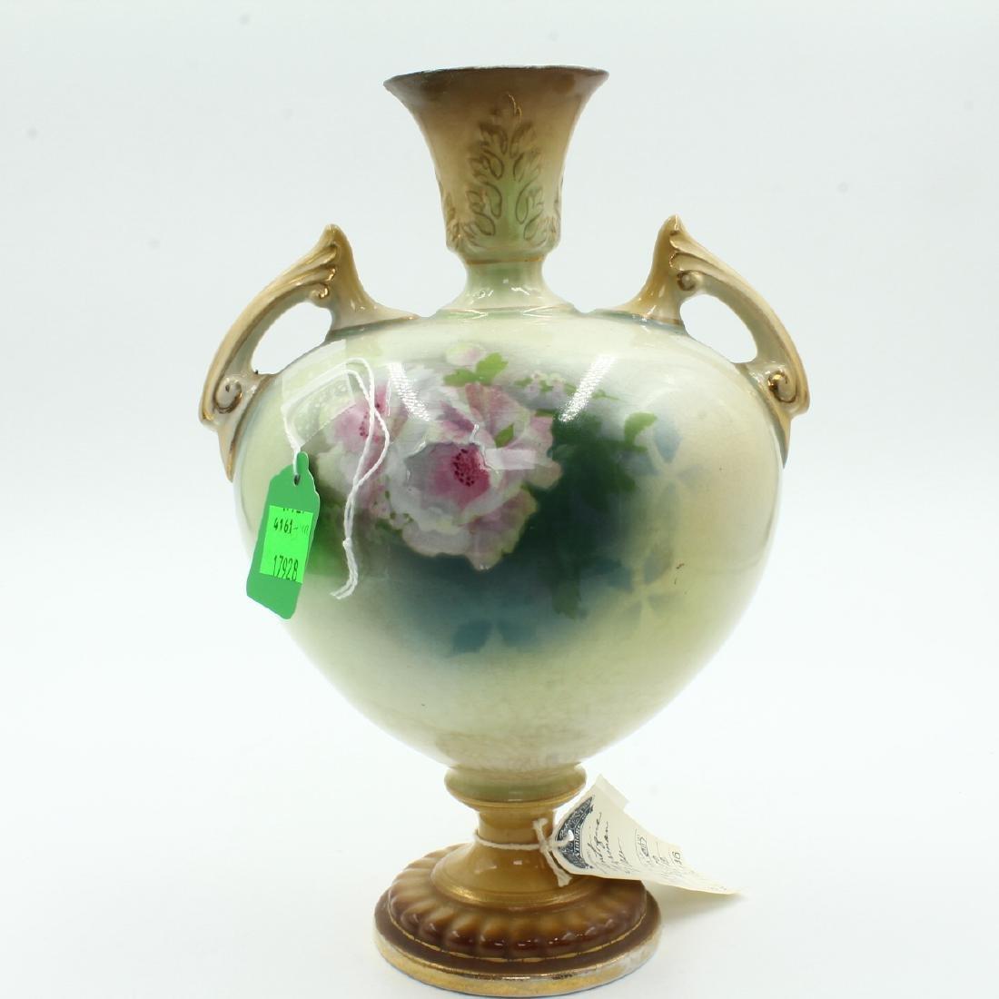 Porcelain Handpainted Urn or Vase