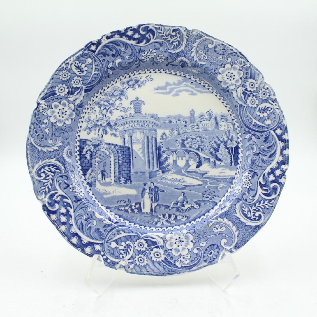 "C. 1845 Staffordshire 10"" Plate"
