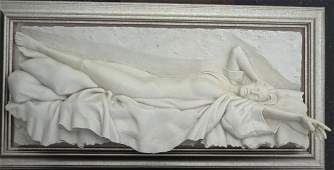 Bill Mack Sculpture, framed art