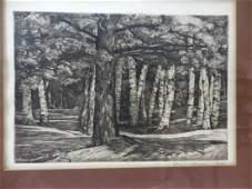 Luigi Lucioni Art Print Etching