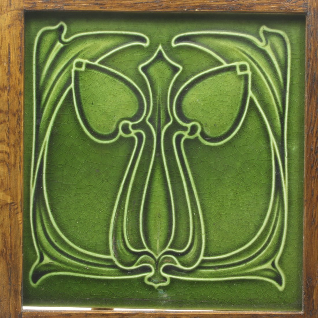 Art Nouveau Design Tile, C. 1905
