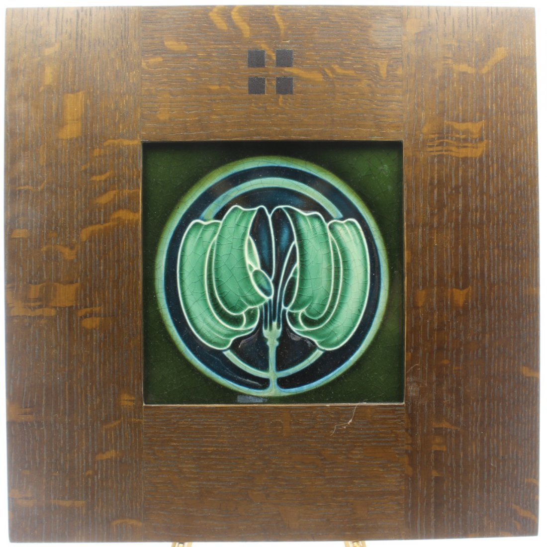 Art Nouveau Design Tile, C. 1908 - 2