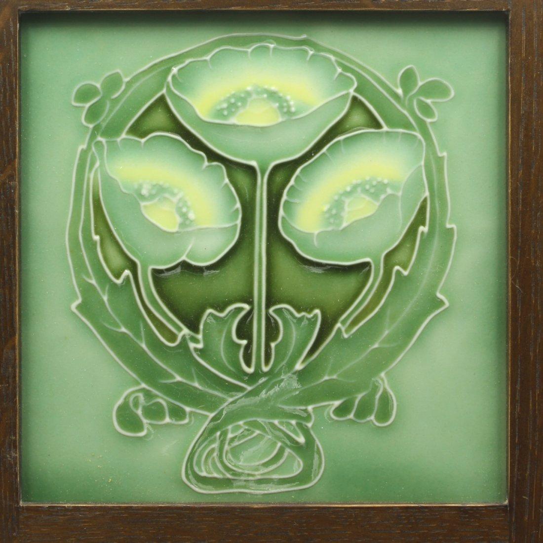 Art Nouveau Design Tile, Porteus NZ