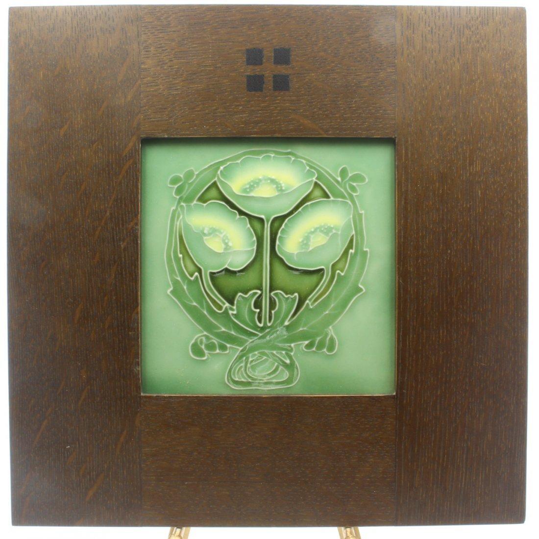 Art Nouveau Design Tile, Porteus NZ - 2