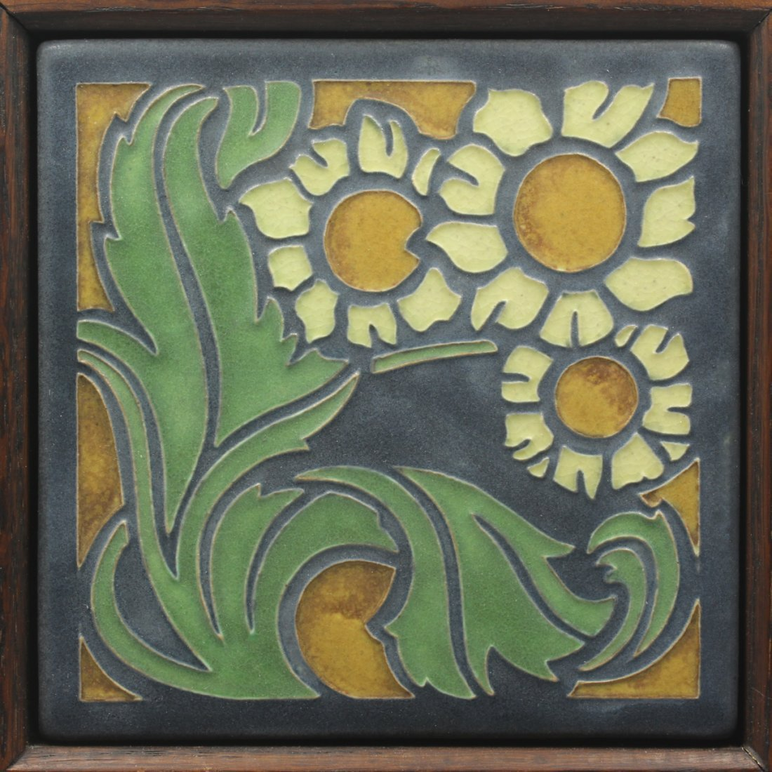 Arts & Crafts Design Tile, Motawi - 2