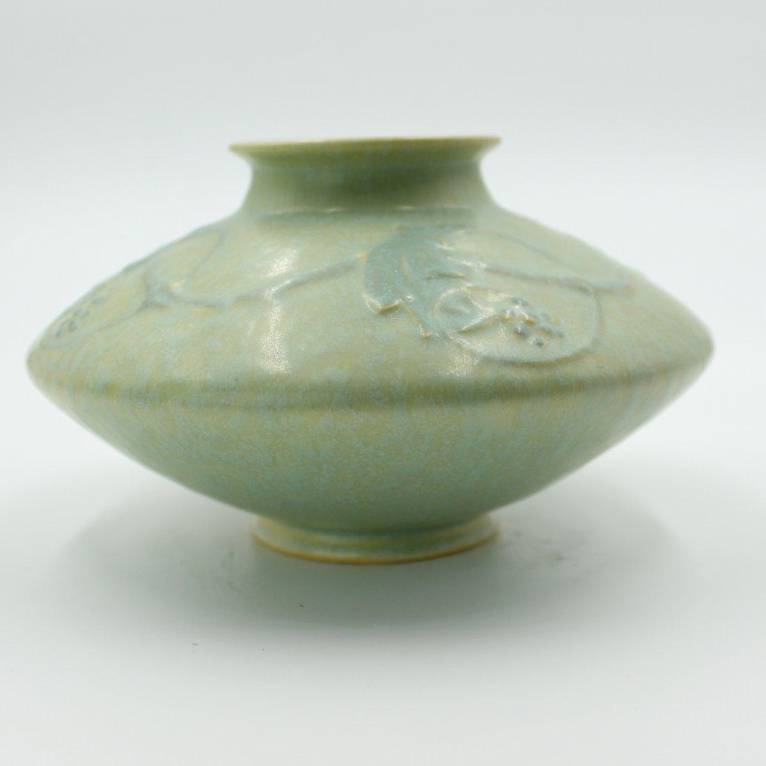 C. 1927 Roseville Cremona Vase #351-4 - 3