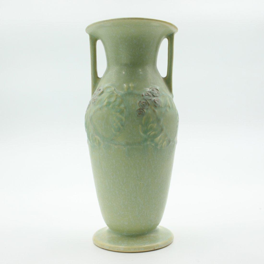 C. 1927 Roseville Cremona Vase #357-8