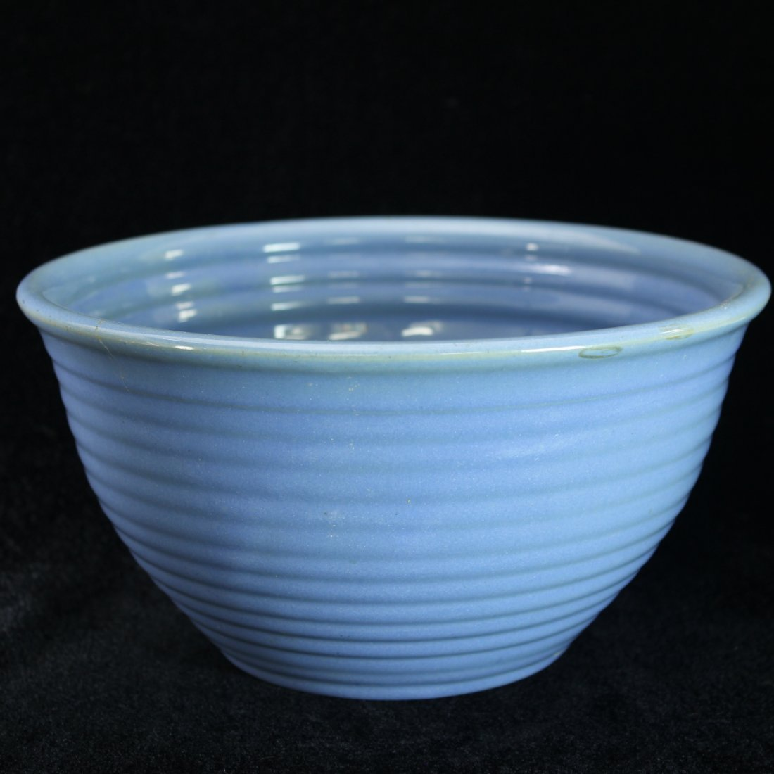 C. 1930 Bauer Pottery Blue Bowl