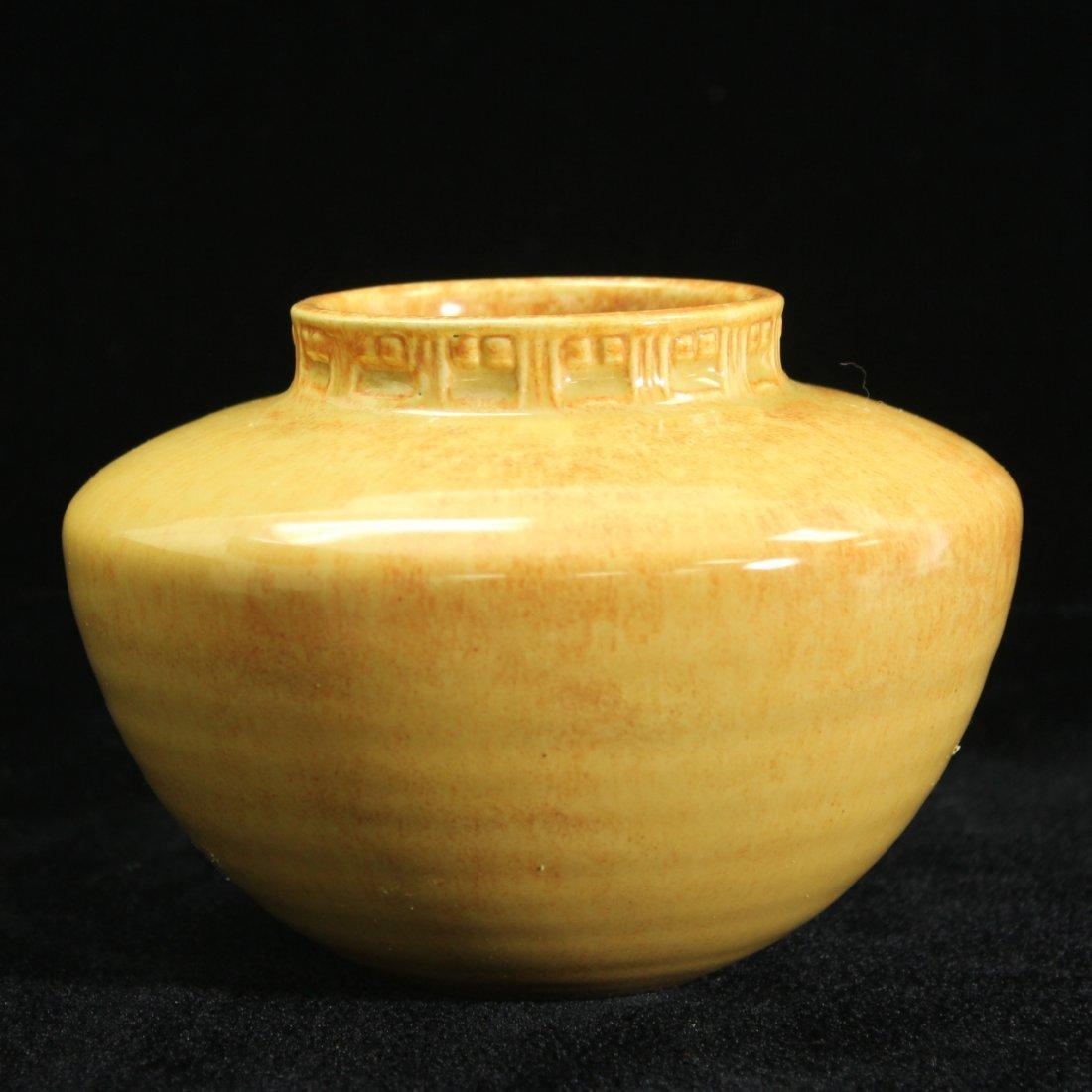 C. 1933 Roseville Tourmaline Vase A200-4