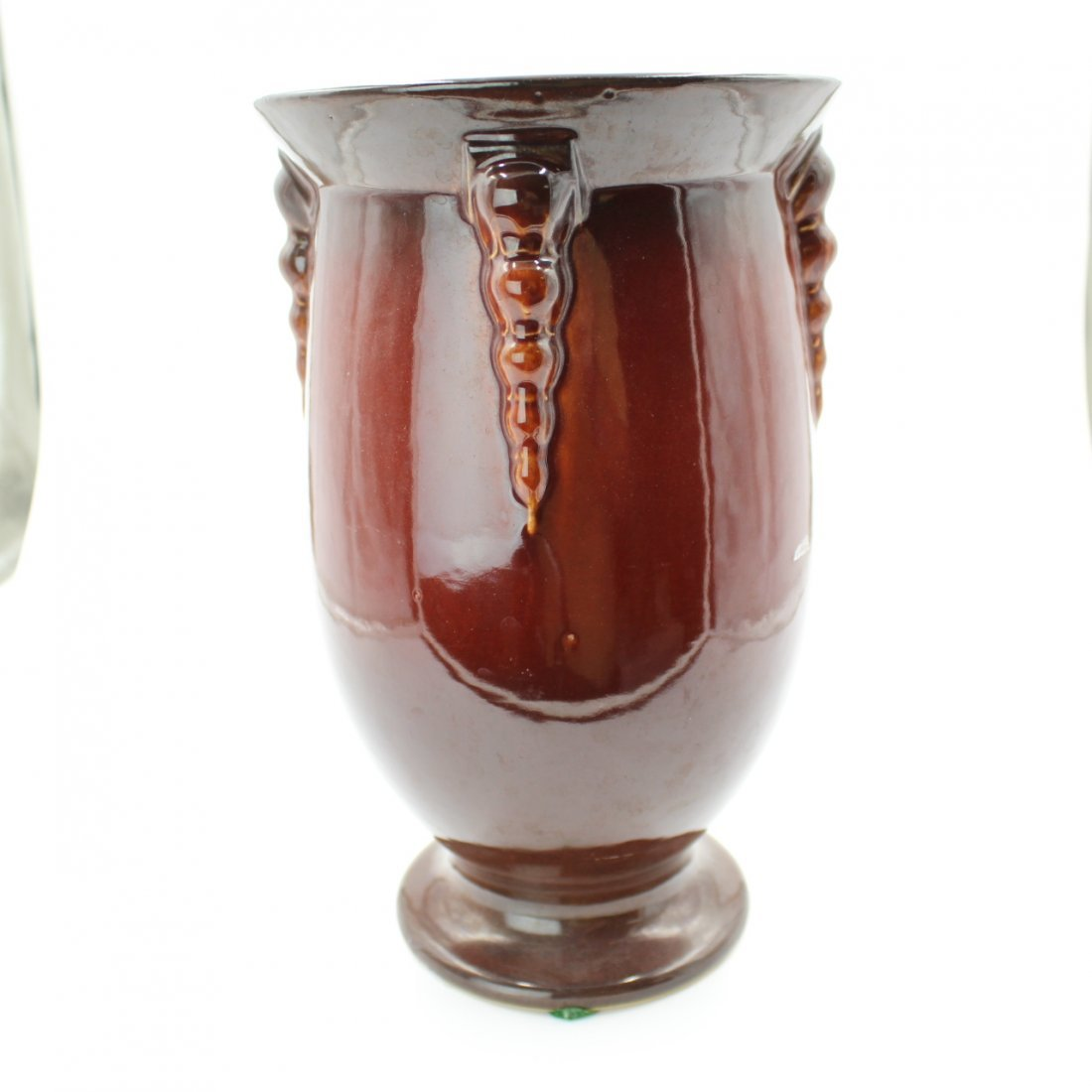 C. 1934 Roseville Topeo Red Vase #663-10