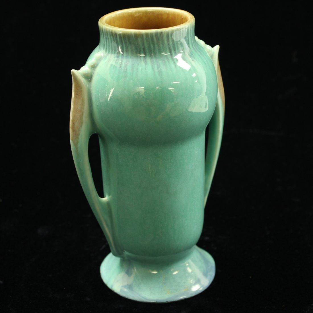 C. 1935 Roseville Orian Vase #733-6 - 3