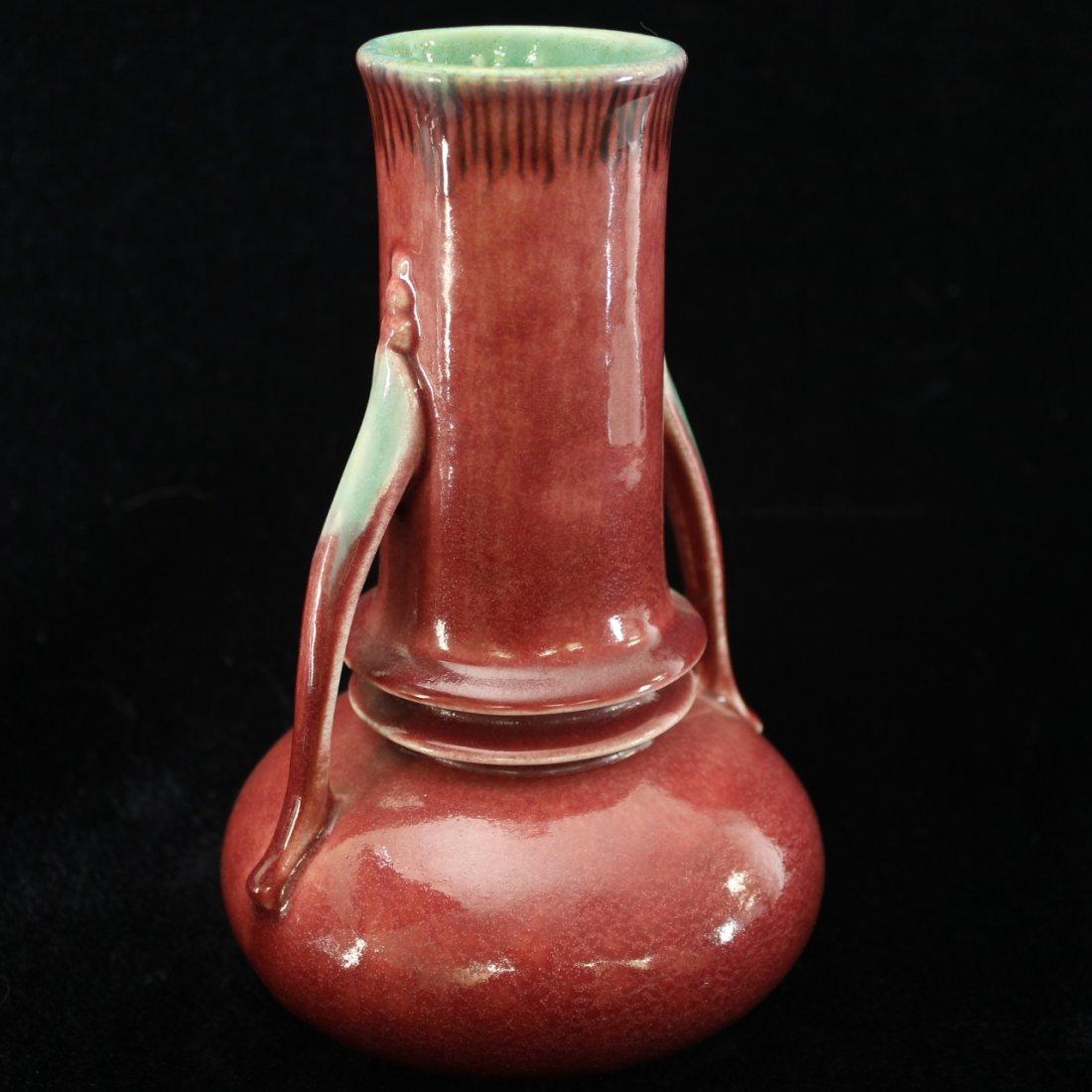 C. 1935 Roseville Orian Vase #736-8 - 2