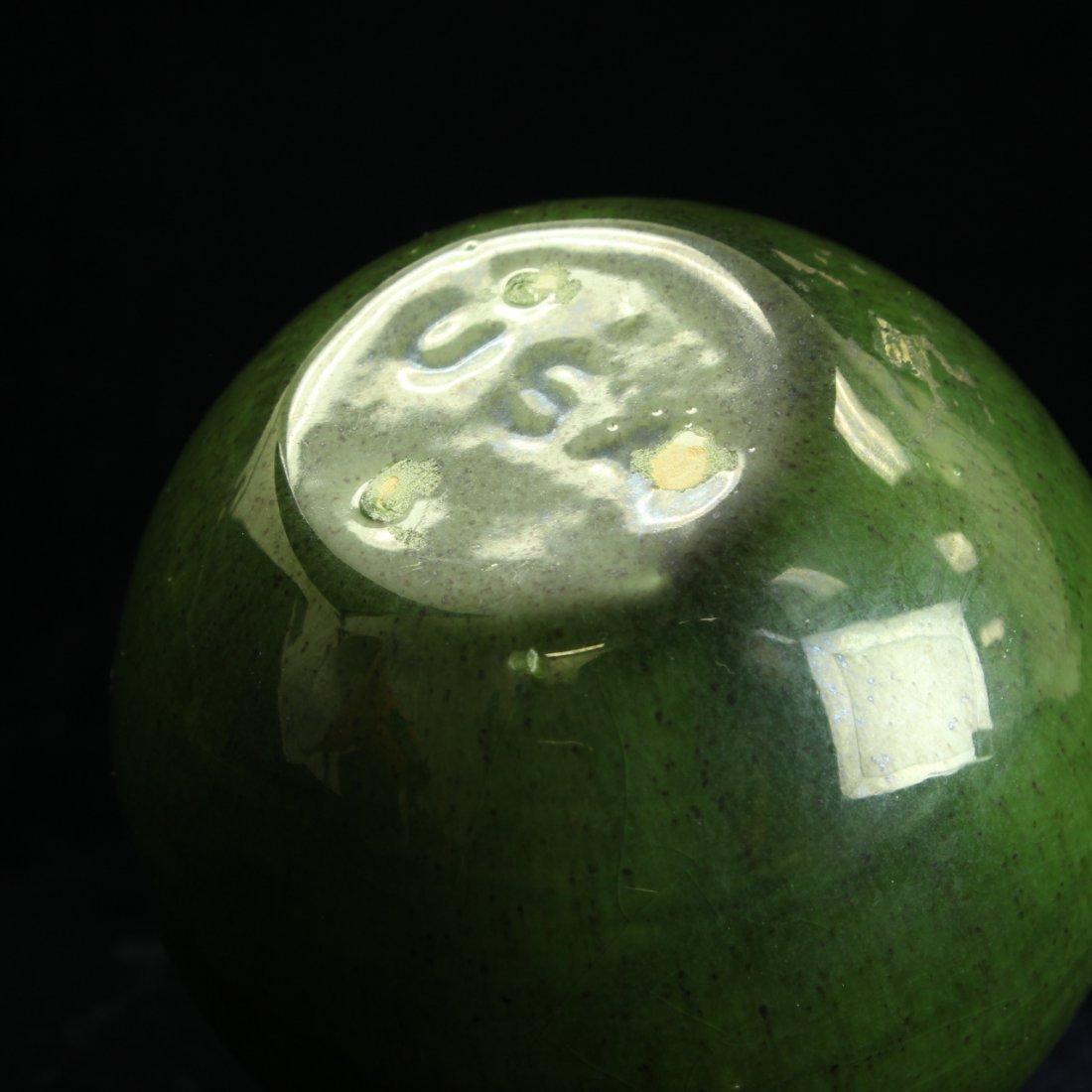 C. 1950 Royal Haeger Apple Green Vase - 4