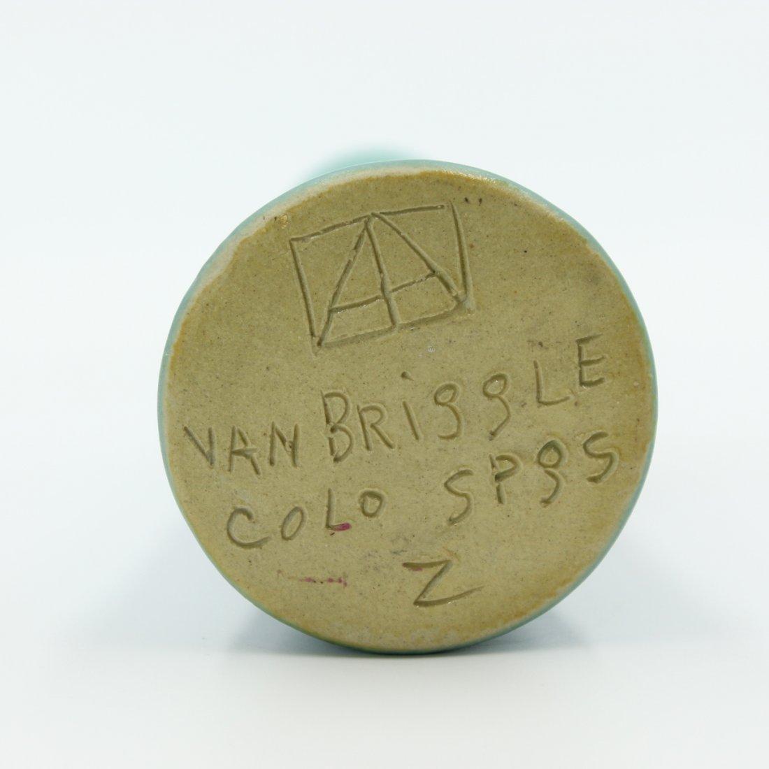 C. 1950 Van Briggle Bud Vase #160 - 3