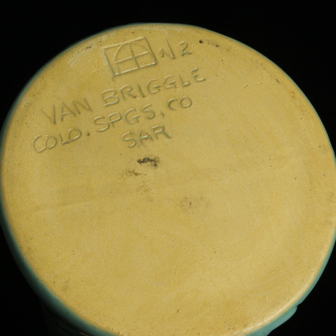 "C. 1970 Van Briggle ""Yucca Flower"" Vase - 5"