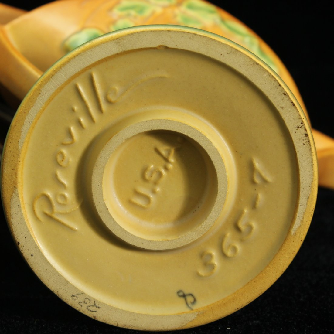 Roseville Columbine Brown Basket 365-7 - 4