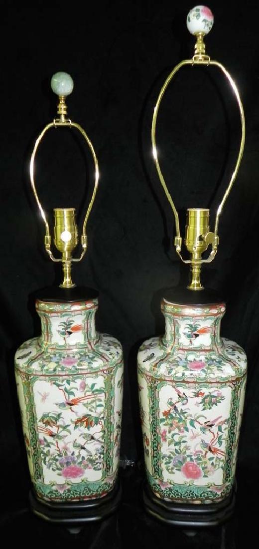 ROSE MEDALLIAN LAMPS