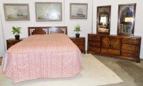 Basset 6pc Queen Size Bedroom Set