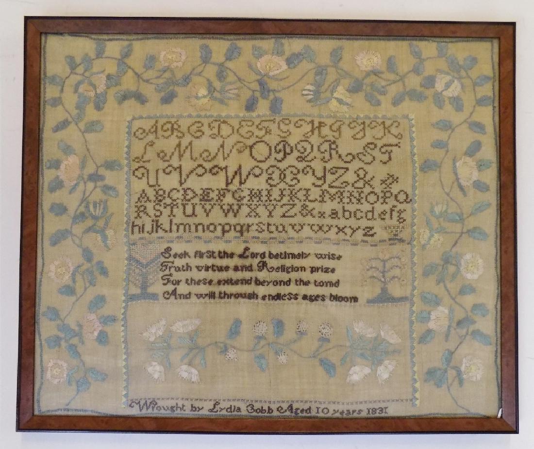 1831 ALPHABET SAMPLER