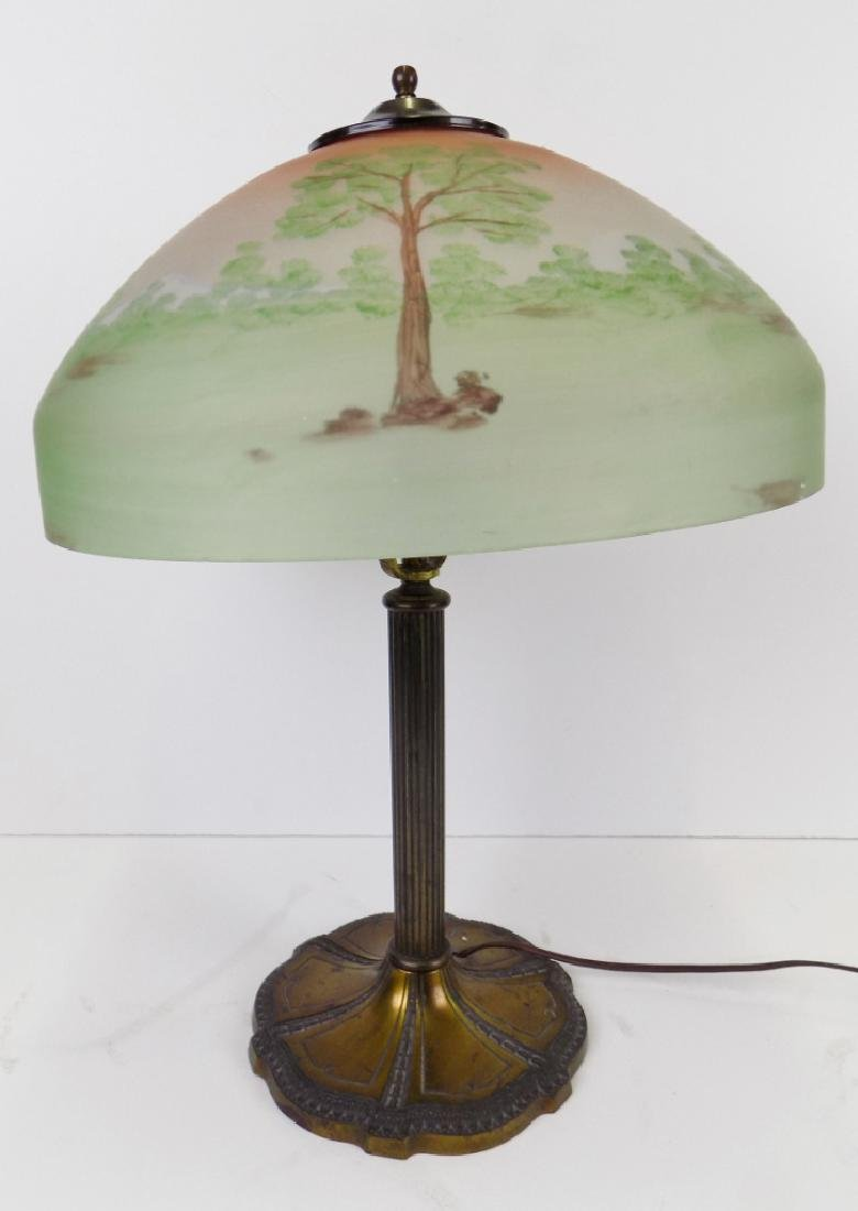 CAMEO GLASS TABLE LAMP