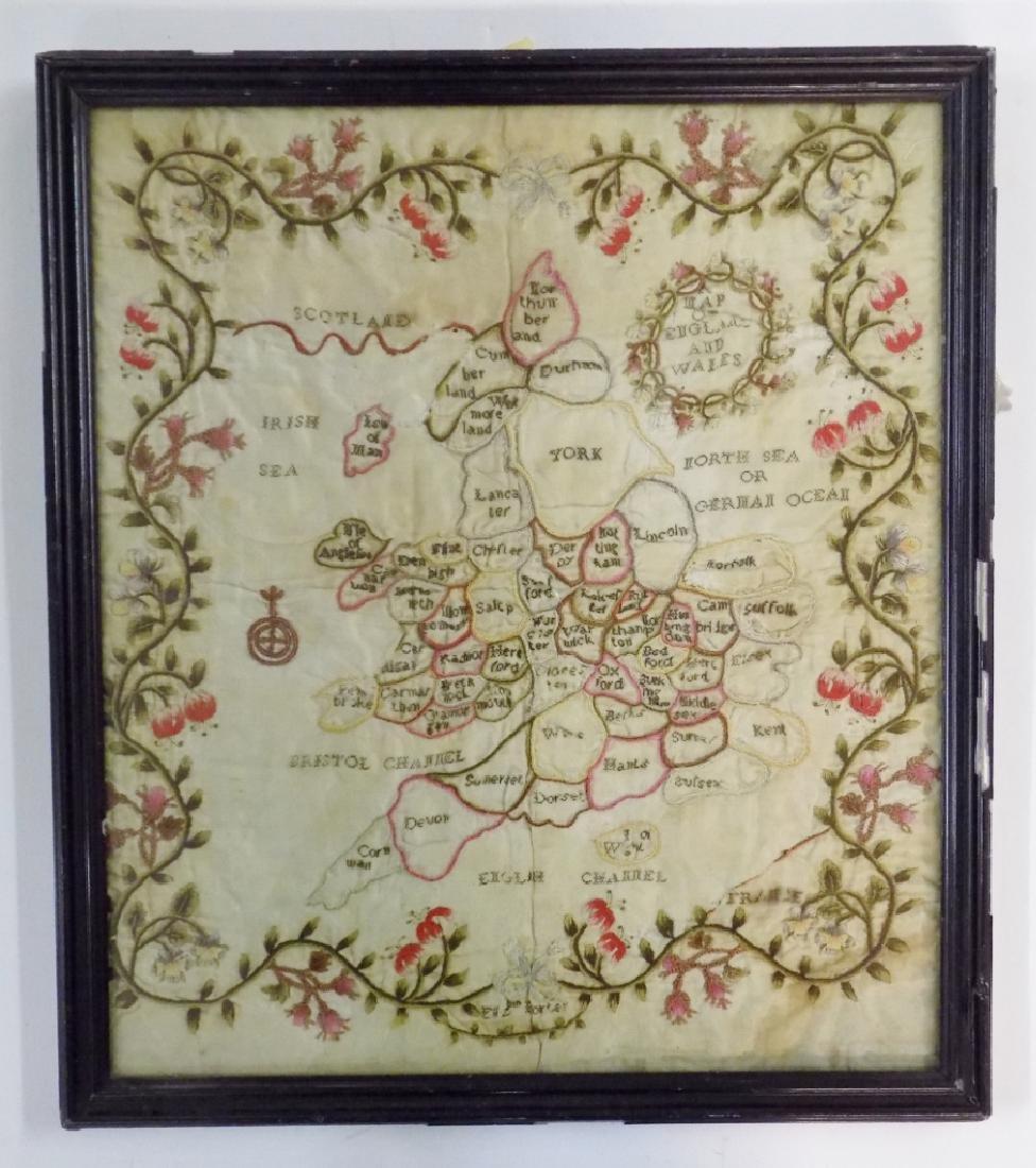 NEEDLEWORK MAP