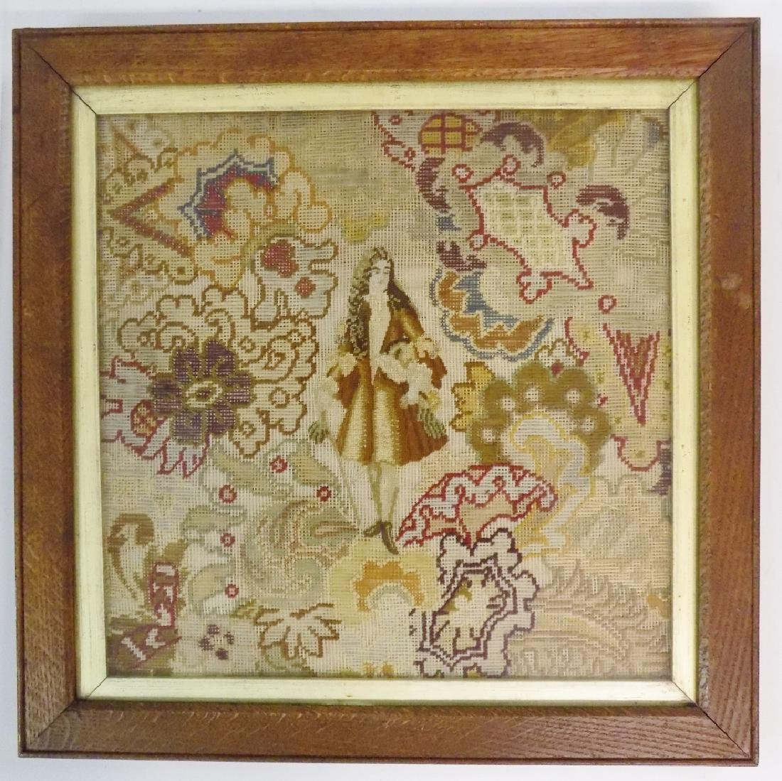 EARLY VICTORIAN NEEDLEWORK