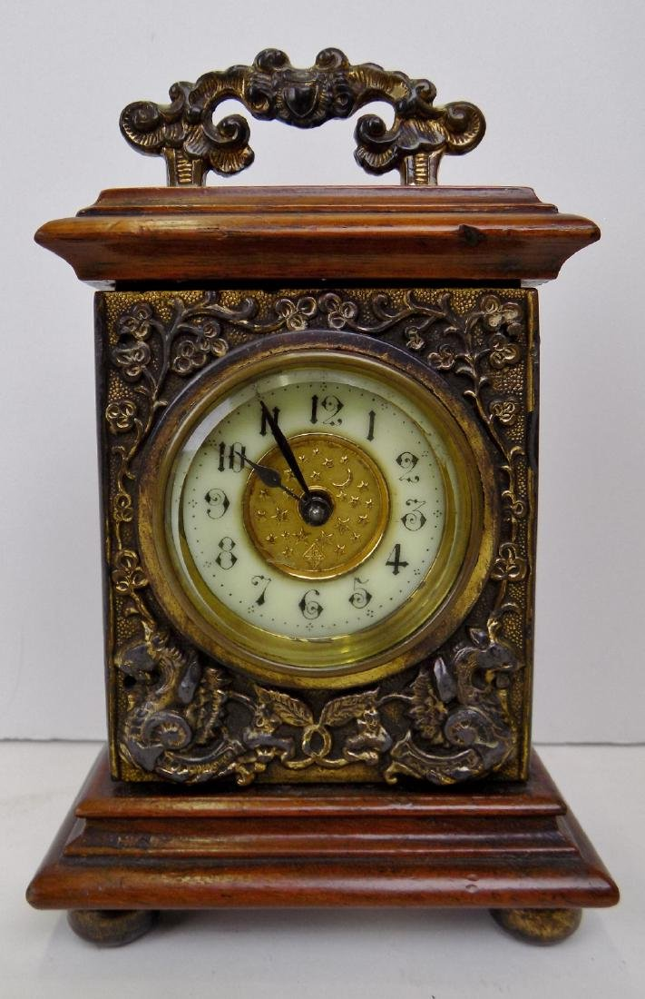 1850 BRITISH UNITED CLOCK