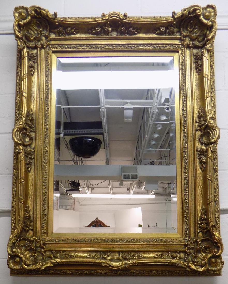GOLD GILT WALL MIRROR