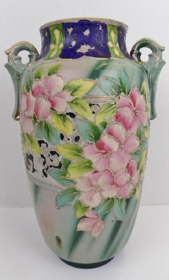 JAPANESE PAINTED VASE