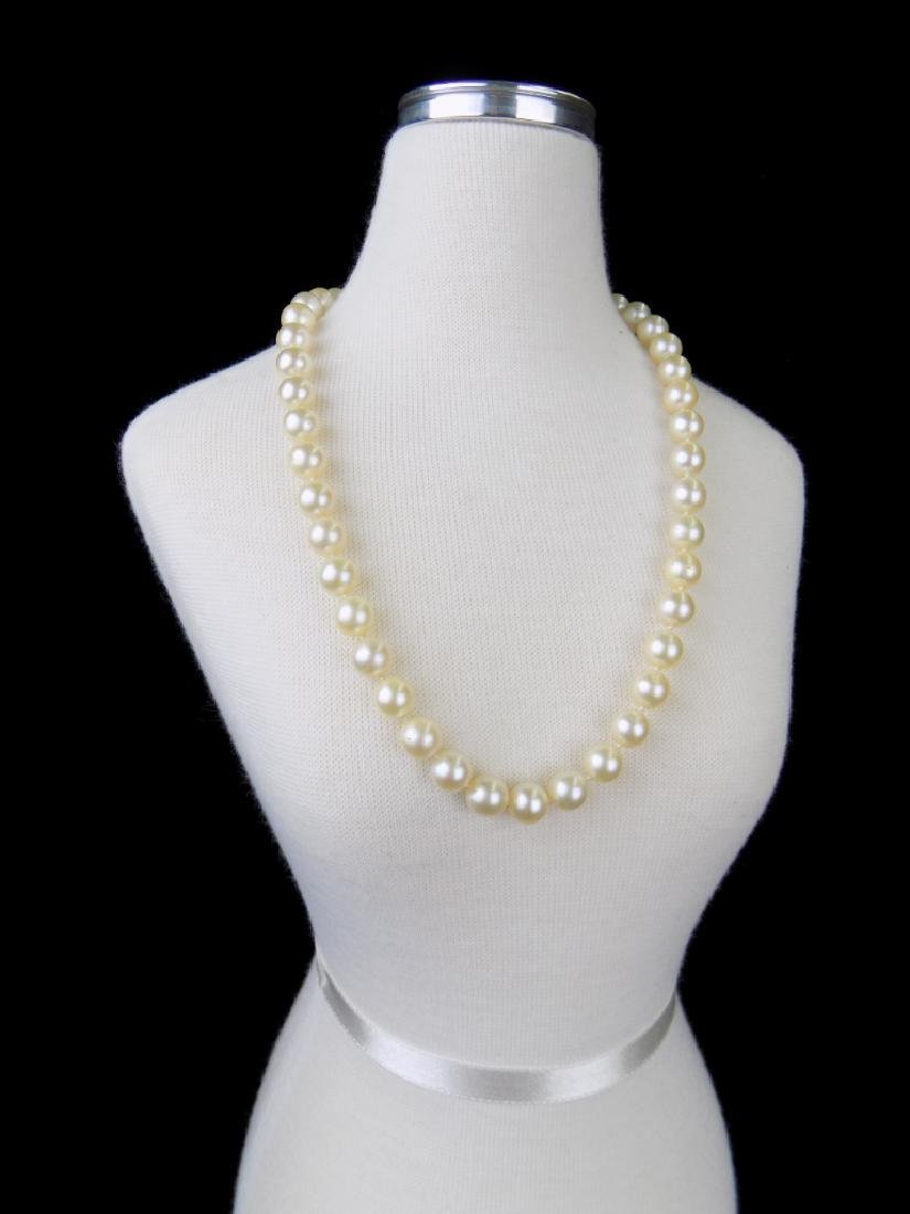 PEARL NECKLACE WITH ENHANCER