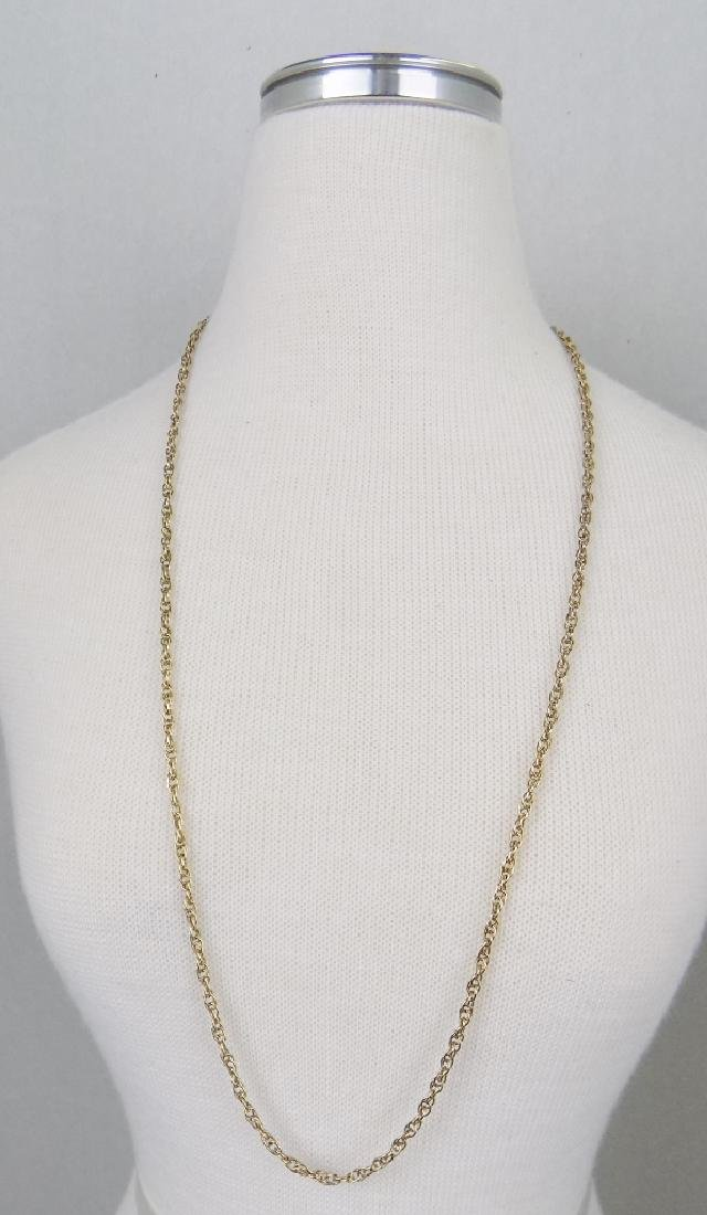 """18.75"""" GOLD NECKLACE"""