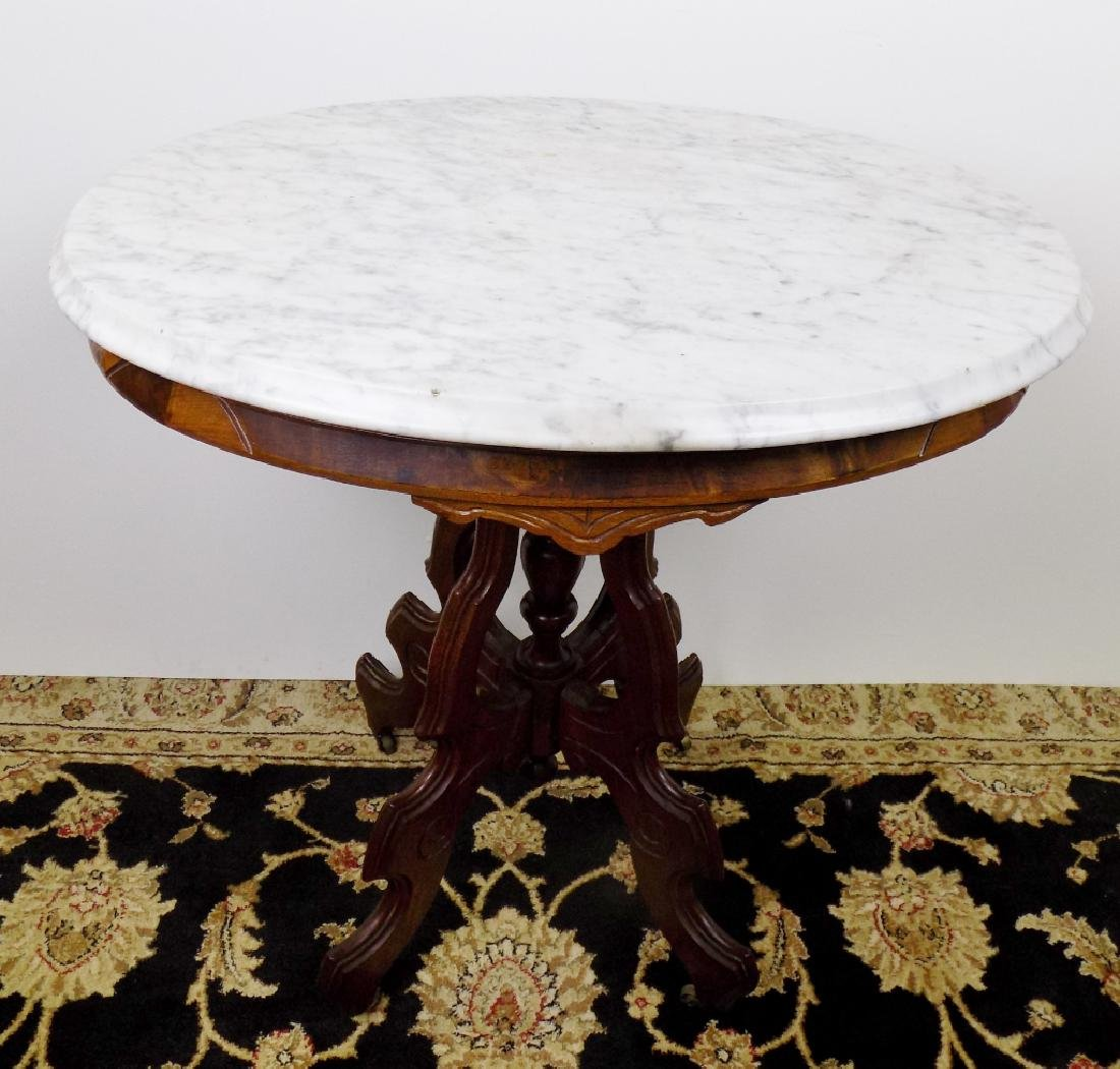 OVAL VICTORIAN STAND