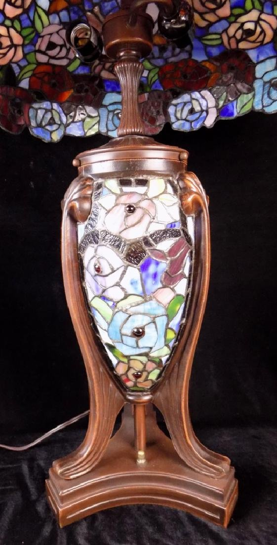 STAINED GLASS TABLE LAMP - 2