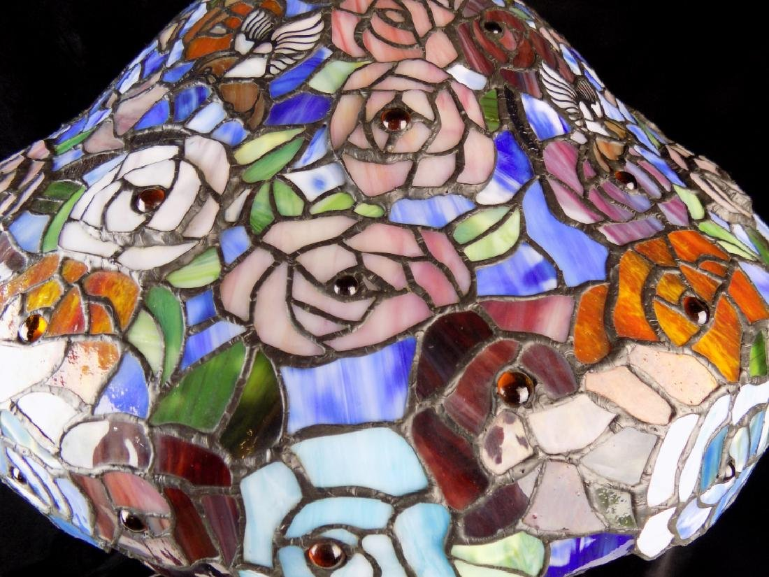STAINED GLASS TABLE LAMP - 5
