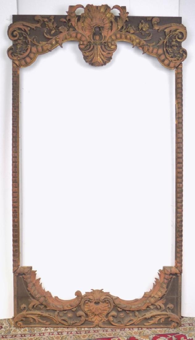 LARGE CARVED FRAME