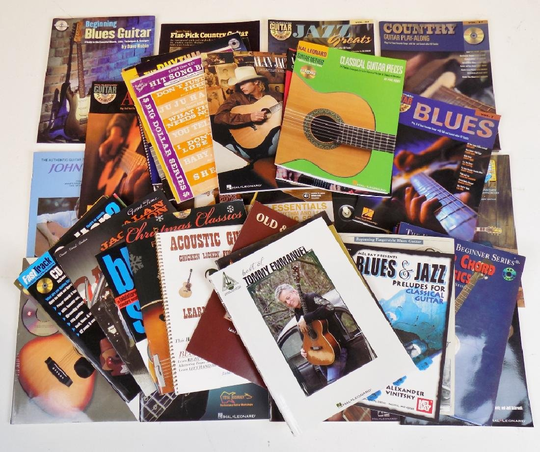 40 GUITAR BOOKS
