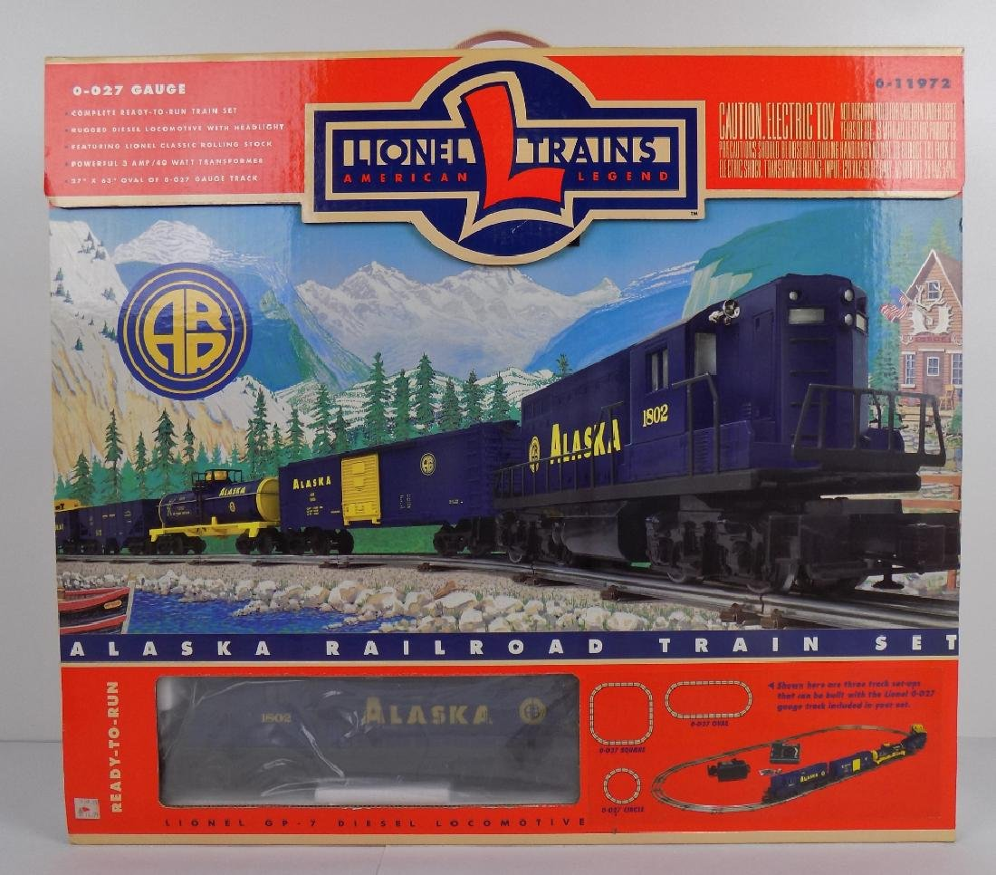 ALASKA RAILROAD TRAIN SET