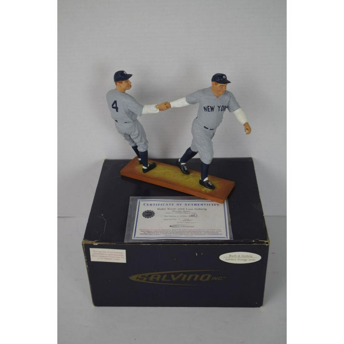 SALVINO BABE RUTH AND LOU GEHRIG LIMITED EDITION