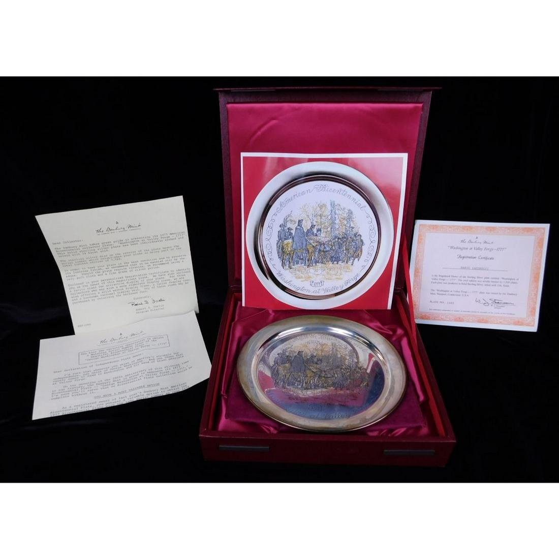 DANBURY MINT LIMITED EDITION SILVER PLATE