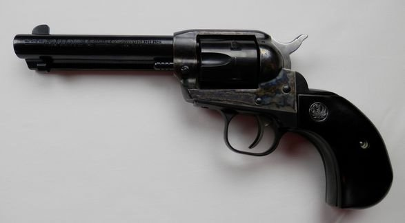 Ruger Birdshead Grip New Model, Single six 32 HP Magnum
