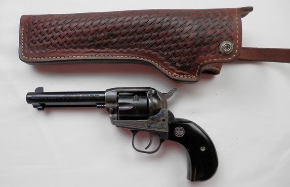 Ruger Birdshead Grip New Model, Single six 32 HP Magnum - 4