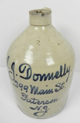 J.j. Donnelly Script Jug