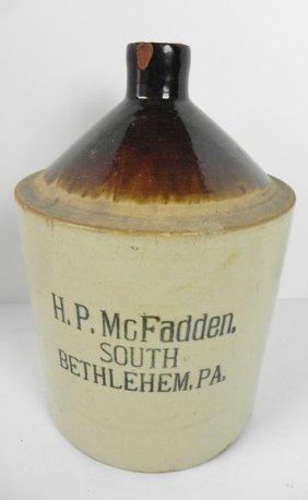 H. P. Mcfadden Jug