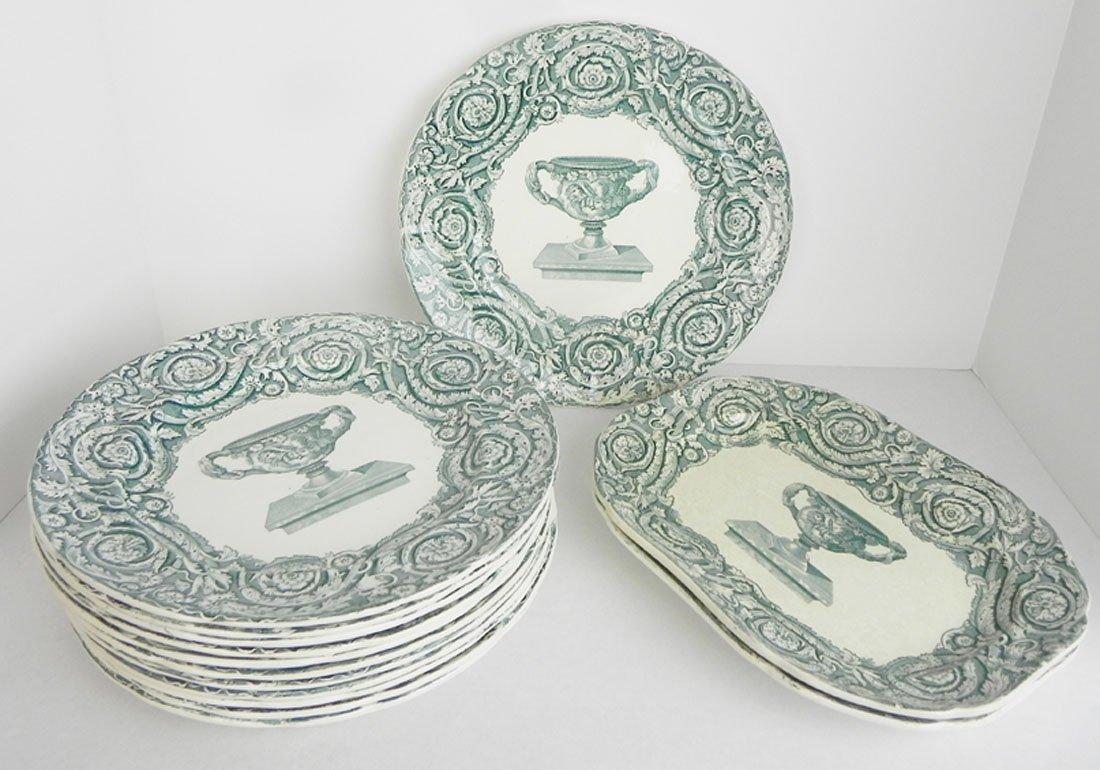 14 Spode Plates