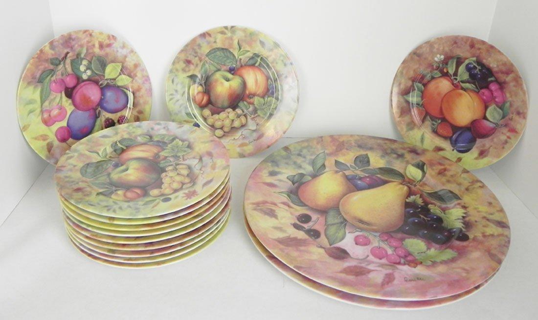 14 Pc. Limoge Cake Set