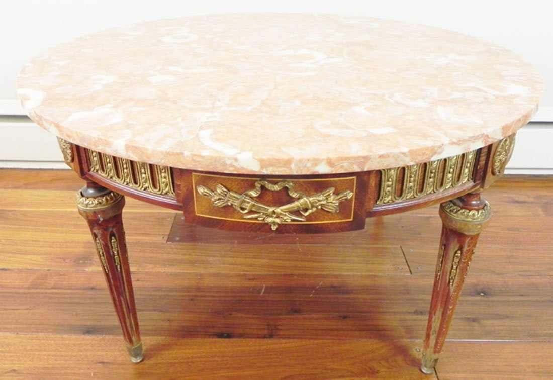 Italian Marble Top Stand