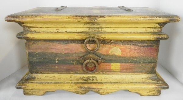 BRAZILIAN BAROQUE DECORATED BOX