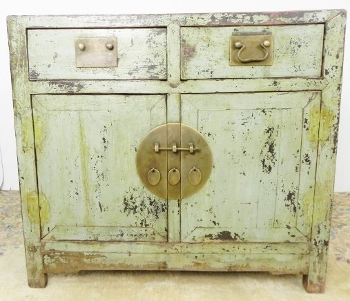 PAINTED SIDE CABINET