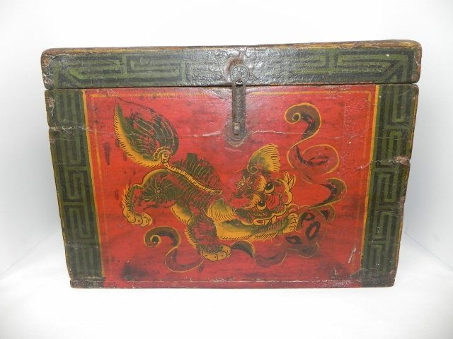 SHANXI, LATE 19TH CENTURY VINTAGE DECORATIVE ASIAN BOX